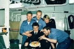 Hr. Ms. Banckert - verjaardag Hans Poorthuis (12-5-1989)