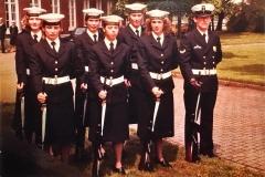 Logistieke School, Erewacht Marinekazerne Amsterdam
