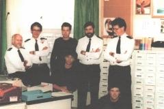 Bureau Commandement CZMNED (1986/1987)