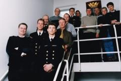 MARSTAF-ORG op bezoek bij de AVDKM (23-3-2001)